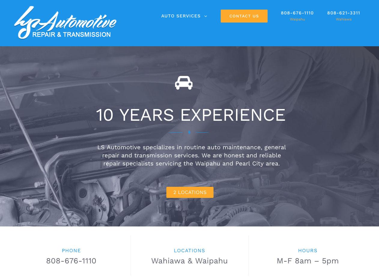 LS Auto Web Design